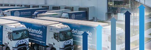 Delamode Baltics branded trailers