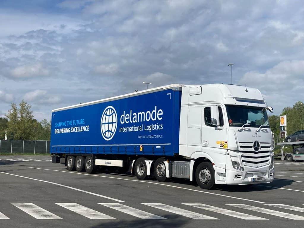 Delamode full loads truck